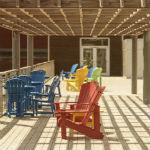 Inspiration fo Deck Designs Fort Mill North Carolina pic
